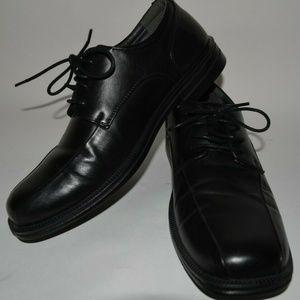 Deer Stag Men's Dress Shoes Size 9.5 M Black